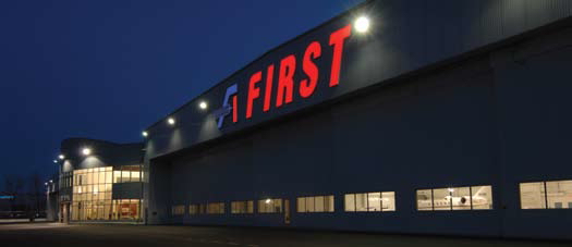 Style and Function Equally Important at First Aviation's New Complex