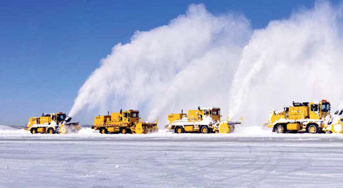 Despite Mild Winter, O'Hare Flexes its Snow Ops Muscle ...