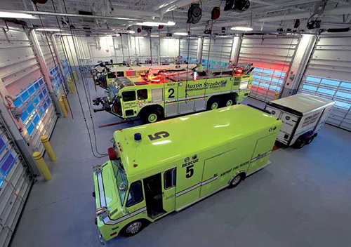 Green Bay S Airport Rescue Amp Firefighting Facility Mirrors
