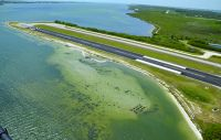 Merritt Island Airport Builds Seagrass Island, Restores Saltwater Marsh to Add New Runway Safety Area