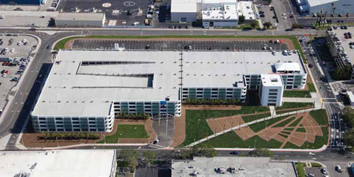 Factsfigures Project Parking Garage Location Long Beach Airport